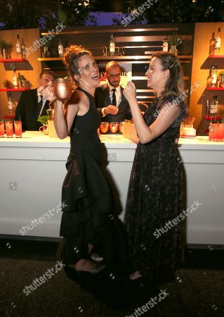 Stock Picture of Liz Flahive, Kim Rosenstock. Ketel One Family Made Vodka toasts to television's finest as the official spirits partner of the 71st Emmy Awards season at the 2019 Creative Arts Emmy Awards ñ Night Two on at L.A. LIVE in Los Angeles