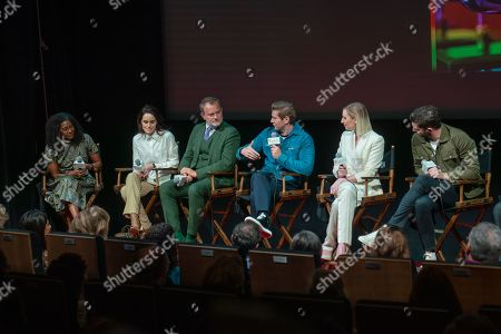 Timberly Whitfield, Michelle Dockery, Hugh Bonneville, Allen Leech, Laura Carmichael, Michael C. Fox