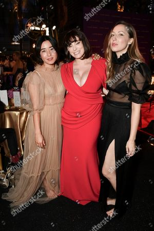 Maya Erskine, Rachel Bloom, Anna Konkle. Maya Erskine, from left, Rachel Bloom and Anna Konkle attend the Governors Ball on the second night of the Creative Arts Emmy Awards, in Los Angeles