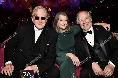 T Bone Burnett, Annette O'Toole, Michael McKean. T Bone Burnett, from left, Annette O'Toole and Michael McKean attend the Governors Ball on the second night of the Creative Arts Emmy Awards, in Los Angeles