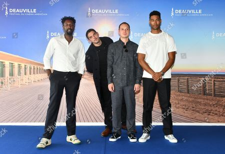 Ladj Ly, Damien Bonnard, Alexis Manenti and Djibril Zonga