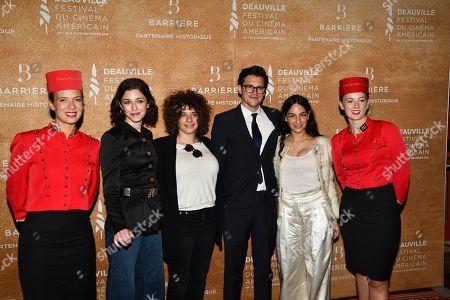 Annabelle Attanasio, Danielle Lessovitz, Allistair Banks Griffin and Pippa Bianco