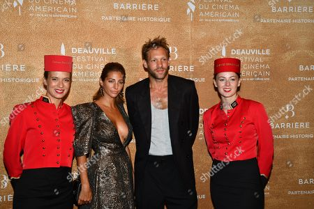 Editorial photo of Award Ceremony, Dinner, 45th Deauville American Film Festival, France - 14 Sep 2019
