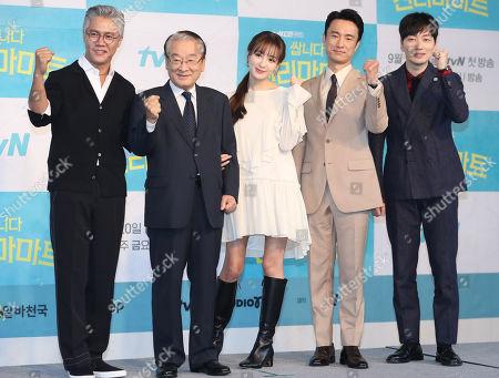 Editorial photo of New drama Pegasus Market, Seoul, Korea - 16 Sep 2019