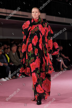 Editorial picture of Richard Quinn show, Runway, Spring Summer 2020, London Fashion Week, UK - 16 Sep 2019