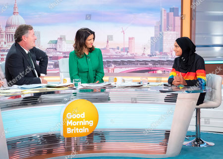 Piers Morgan and Susanna Reid with Sinead O'Connor