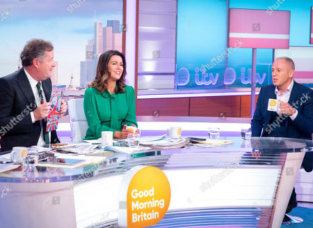 Piers Morgan and Susanna Reid with Judge Rob Rinder