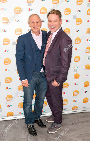 Editorial image of 'Good Morning Britain' TV show, London, UK - 16 Sep 2019