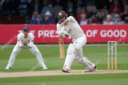 Ben Foakes in batting action for Surrey during Essex CCC vs Surrey CCC, Specsavers County Championship Division 1 Cricket at The Cloudfm County Ground on 16th September 2019