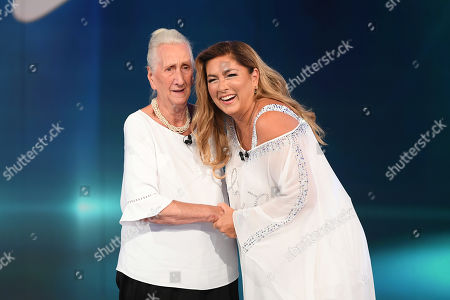 Editorial picture of 'Domenica' TV show, Rome, Italy - 15 Sep 2019