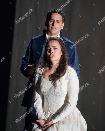 Juan Diego Flores as Werther,  Isabel Leonard as Charlotte