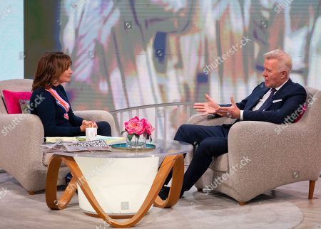 Lorraine Kelly and Martin Fry