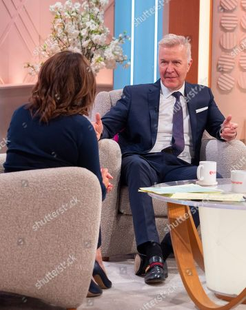 Stock Picture of Lorraine Kelly and Martin Fry