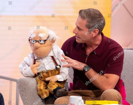 Stock Picture of Paul Zerdin