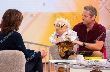 Stock Photo of Lorraine Kelly and Paul Zerdin