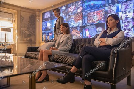 Gina Mckee as Jennifer Birch, Emma Greenwell as Myfanwy Thomas and Eleanor Matsuura as Claudia Clifton
