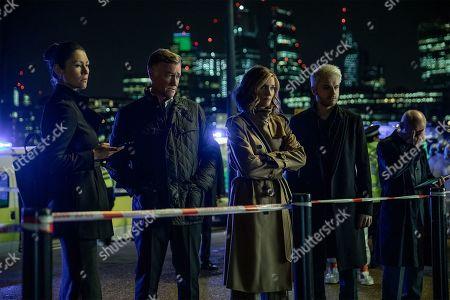 Eleanor Matsuura as Claudia Clifton, Joely Richardson as Lady/Linda Farrier and Ronan Raftery as Robert Gestalt