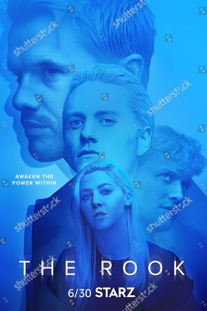 The Rook (2019) Poster Art. Ronan Raftery as Robert Gestalt, Jon Fletcher as Jon Fletcher as Alex/Teddy Gestalt and Catherine Steadman as Eliza Gestalt