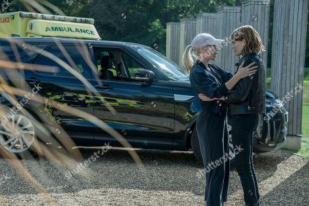 Catherine Steadman as Eliza Gestalt and Emma Greenwell as Myfanwy Thomas