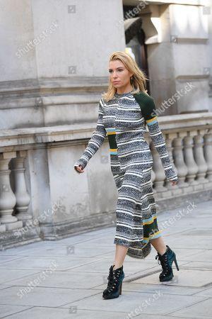 Editorial image of Street Style, Spring Summer 2020, London Fashion Week, UK - 15 Sep 2019