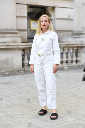 Editorial picture of Street Style, Spring Summer 2020, London Fashion Week, UK - 15 Sep 2019