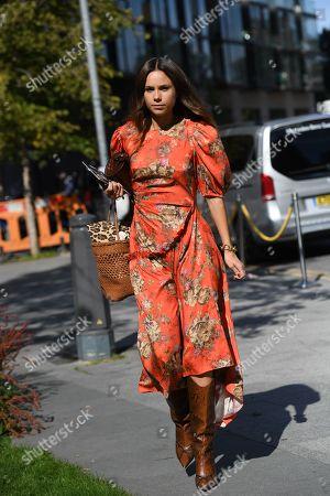 Editorial photo of Street Style, Spring Summer 2020, London Fashion Week, UK - 15 Sep 2019