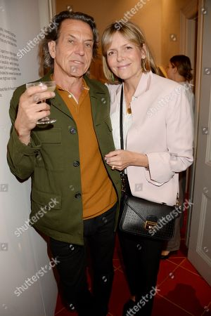 Stock Picture of Stephen Webster and Carol Woolton