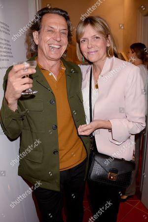 Stephen Webster and Carol Woolton