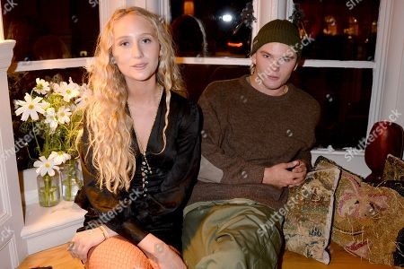 Elfie Reigate and Jordan Barrett