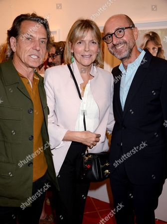 Stock Picture of Stephen Webster, Carol Woolton and Gianluca Longo
