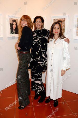 Kim Sion, Venetia Scott and Lucy Kumara Moore
