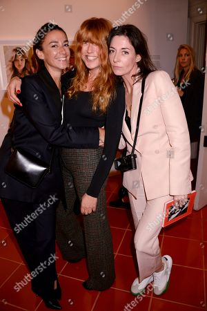 Marie Louise Scio, Kim Sion and Mary McCartney