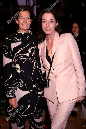 Venetia Scott and Mary McCartney