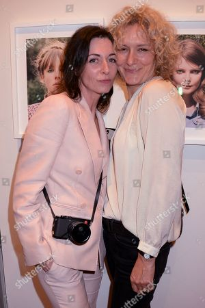 Mary McCartney and guest