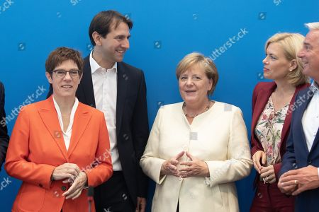 Editorial picture of CDU board meeting, Berlin, Germany - 16 Sep 2019