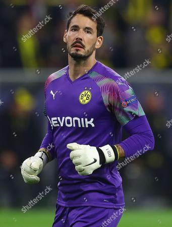 Stock Photo of Roman Burki of Borussia Dortmund