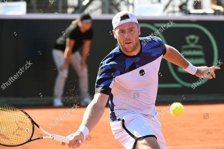 Editorial photo of Tennis Davis Cup - Hungary vs Ukraine, Budapest - 16 Sep 2019