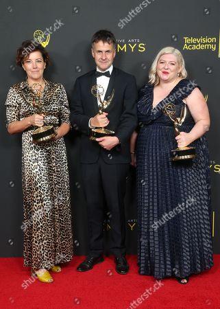 Nina Gold, Robert Sterne and Carla Stronge