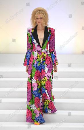 London Fashion Week September 2020.Paul Costelloe Show Runway London Fashion Week Stock Photos