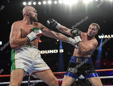 Editorial photo of Tyson Fury v Otto Wallin, Heavyweight boxing, Las Vegas, USA - 14 Sep 2019