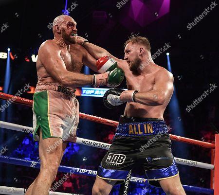 Editorial image of Tyson Fury v Otto Wallin, Heavyweight boxing, Las Vegas, USA - 14 Sep 2019