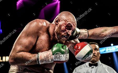 Editorial picture of Tyson Fury v Otto Wallin, Heavyweight boxing, Las Vegas, USA - 14 Sep 2019