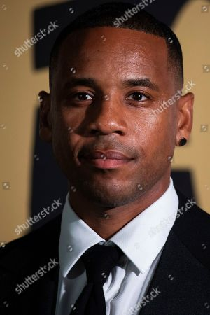 Reggie Yates poses for photographers upon arrival at the Fashion For Relief charity event in central London