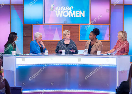 Christine Lampard, Denise Welch, Stella Creasy, Brenda Edwards and Jane Moore