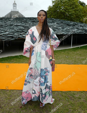 Editorial image of Roksanda show, Front Row, Spring Summer 2020, London Fashion Week, UK - 16 Sep 2019