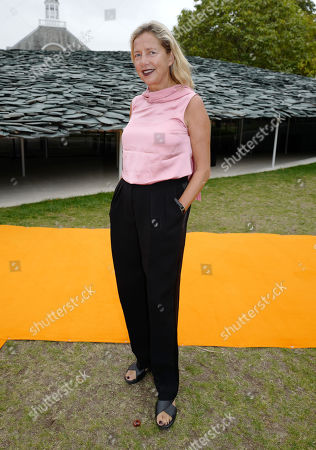 Editorial picture of Roksanda show, Front Row, Spring Summer 2020, London Fashion Week, UK - 16 Sep 2019