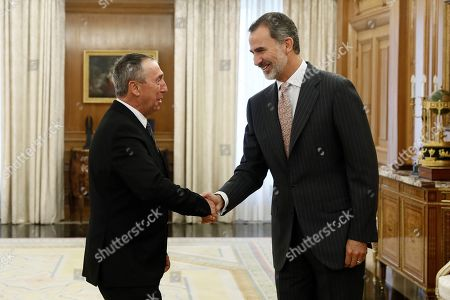 King Felipe VI commences consultations ahead of possible investiture vote, Madrid