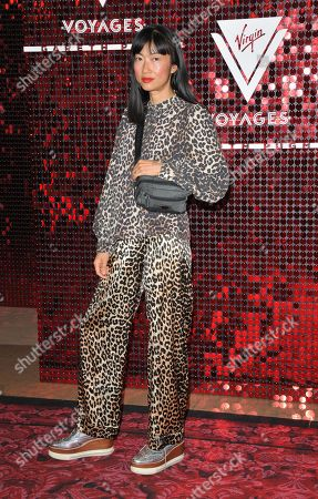 Editorial picture of Virgin Voyages capsule collection launch event, Royal Opera House, Spring Summer 2020, London Fashion Week, UK - 15 Sep 2019