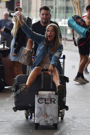 Editorial picture of 'The Only Way Is Essex' TV show filming, Malaga Airport, Marbella, Spain - 16 Sep 2019