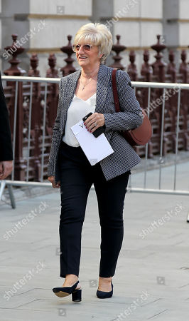 David Beckham's mum Sandra Georgina West